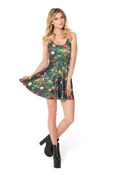 Christmas Tree 2.0 Scoop Skater Dress – Black Milk Clothing