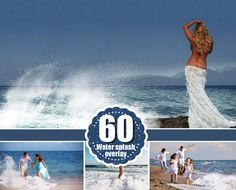 60 type of water photo Overlays, png by @Graphicsauthor