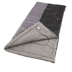 Stay warm even when the temperature dips to 40° F in your Coleman Biscayne Big and Tall Warm Weather Sleeping Bag with brushed polyester cover and soft tricot fiber blend liner. The specially-desig...