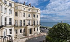 Eastern Terrace, Brighton, East Sussex, a Luxury Home for Sale in Brighton , England - Brighton Uk, Brighton Belle, Brighton Houses, East Sussex, Country Living Uk, Regency House, English Architecture, England Ireland, Home And Away