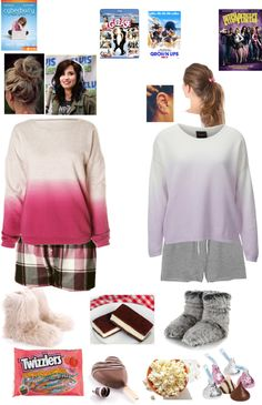 """""""Sleepover with Demi"""" by gutierrezbrittany ❤ liked on Polyvore"""