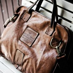 NOBILE Italian Leather Document Bag by Campomaggi - $773
