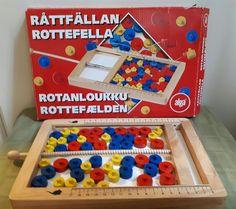 RÅTTFÄLLAN alga sällskapsspel på Tradera.com - Övriga spel för barn |