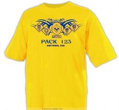Tribal Ranks Shirt - Cub Scout™ Pack Design SP2086