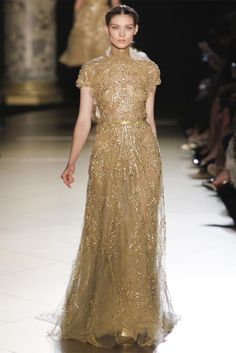 Elie Saab Fall 2012 Couture Art Nouveau Wedding Inspiration