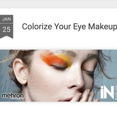 If your everyday neutral eye makeup is feeling a bit monochrome it's time to colorize. This is the season for shocks of color. The runways at Fashion Week were bursting with bright hues accenting the eyes. Be empowered. Make a statement. Skip the sepia tones for the day - or night - and rock with shocks of edgy bright hues of iNtense PRO Press Powder Pigments. Available in a range of intense colors to suit your mood. Embrace opaque color and follow these tips from Mehron makeup artist Pamela…
