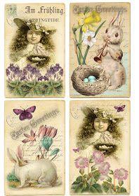 omnia praeclara rara: Happy Easter Cards...if you havn`t enough:-)