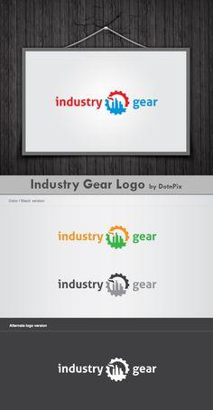 Fully a new industry equipment…  http://graphicriver.net/item/industry-gear-logo/2529851?ref=dotnpix