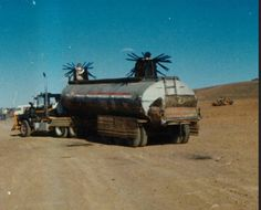 Mad Max the Road Warrior tanker truck with survivor group defense modifications. Movie Cars, 80s Movies, Cult Movies, Movie Scene, Love Movie, Mad Max 2, The Road Warriors, Mack Trucks, Movie Lines