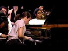 Helene Grimaud   2/3 Ravel Concerto in G Major II.  Adagio assai