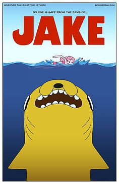 Adventure Time / Jaws Crossover