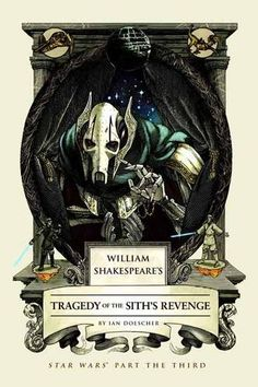 Book #50--William Shakespeare's Tragedy of the Sith's Revenge: Star Wars Part the Third (William Shakespeare's Star Wars) by Ian Doescher http://www.amazon.com/dp/159474808X/ref=cm_sw_r_pi_dp_OlI.vb02JRNQ5
