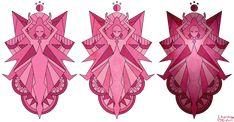 ~Magenta Diamond Mural - Steven Universe~  by CharmmyColour