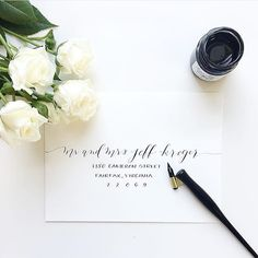 Totally in awe of this beautiful calligraphy. Envelope inspiration! Who could resist an invitation arriving in something that looks this spectacular?  Calligraphy & photo  @lhcalligraphy  #calligraphy #handlettering #invitation #weddinginvitation #weddingenvelope #weddingcalligraphy #invitationinspiration #weddingideas #weddinginspiration #weddinginspo # #Alamango #Bridal #Textiles #Wedding #AlamangoBridal #AlamangoTextiles #Malta #LoveMalta #Bridesmaid #WeddingDress