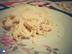 Spagetti carbonara without egg. Special recipe :D Fast-recipe for date night !