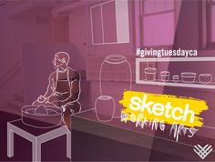 On Giving Tuesday Canada, donate $25 and help a ceramics artist offer workshops to their community.