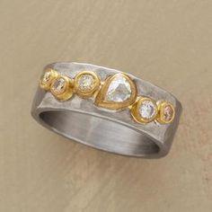designer: Annie Fensterstock details here:GATHERING OF DIAMONDS RING