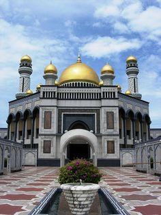 mosque in Borneo