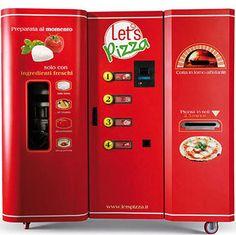 Pizza vending machine creates perfect pie in 2 minutes