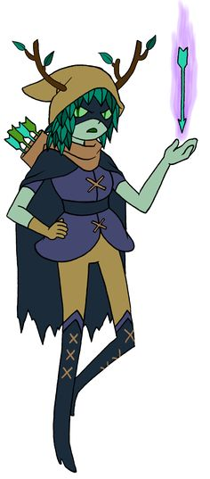 Adventure Time huntress wizard. They really could do more with her.