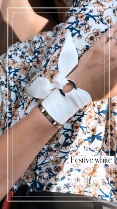 Summer Accessories, Hair Accessories, Bangle, Bracelet, Unique Gifts For Her, How To Wear Scarves, Stainless Steel Rings, White Fabrics, Silk Scarves