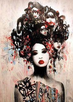 Hush. Street Art. Art. Graffiti.