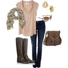 perfect for a warmer day in the fall. loving these boots!
