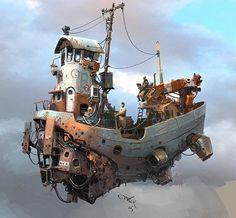 ian mcque airships - Google Search