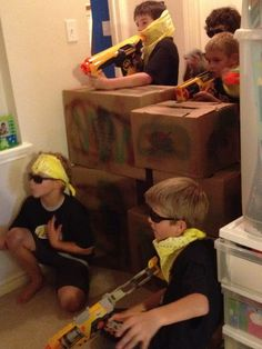 THE ADVENTURES OF TEAM DANGER: Alex's Nerf Wars Party