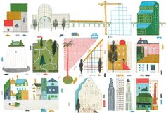 Illustration by Violeta Lópiz – from 'Amigos Do Peito / Close Friends' (written by Cláudio Thebas)