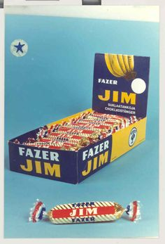 Old packaging  - Jim bar of chocolate #jim #history