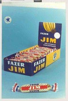 Old packaging  - Jim bar of chocolate #jim #history