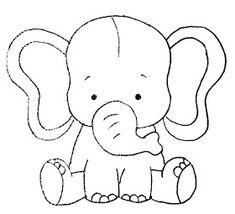 die 12 besten bilder zu elefanten schablone in 2020