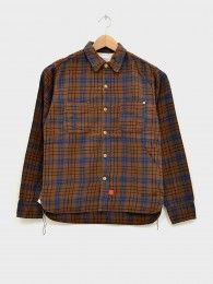 Original Plaid Flannel Shirt Brown | Front