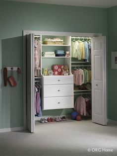 Just The Right Size For Kids   Vermont Custom Closets Little Girl Closet,  Kid Closet