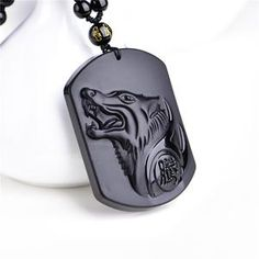 Cheap carved wolf head, Buy Quality f pendant directly from China lucky pendant Suppliers: Natural Black Obsidian Carving Wolf Head Amulet pendant free necklace obsidian Blessing Lucky pendants fashion Jewelry Wolf Necklace, Pendant Necklace, Obsidian Stone, Valentines Gifts For Her, Sculpture, The Ordinary, Fashion Jewelry, Crystals, Natural