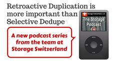 "Listen to our new Podcast, ""Permabit Provides Retroactive Deduplication via EMC Select"""