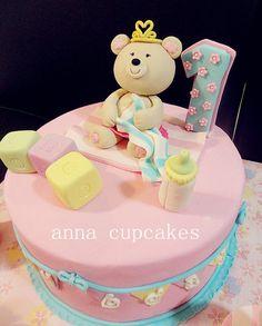 cutey teddy bear by annacupcakes