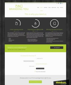 Branding You - Services page