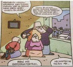 Rehine Karikatürü Özer Aydoğan   Karikatürname