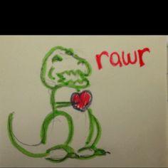 T Rex Valentine