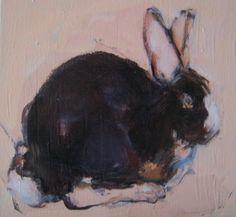Bunny Oil on canvas