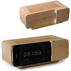 Smart alarm clock, which tracks your body movements and wakes you up when it senses you're at the end of your natural sleep cycle