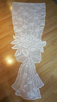 Image gallery – page 527202700118155315 – artofit Crochet Art, Filet Crochet, Vintage Crochet, Crochet Doilies, Crochet Flowers, Crochet Patterns, Bohemian Curtains, Crochet Curtains, Crochet Table Runner