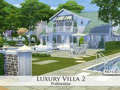 Sims 4 CC's - The Best: Luxury Villa - No CC by Pralinesims