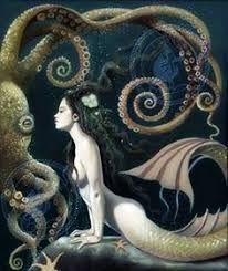Mermaid dark art