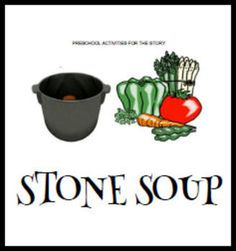 Preschool Activities for Stone Soup - Printable Pre-K Preschool Literacy, Preschool Books, Free Preschool, Preschool Themes, Kindergarten, Nutrition Activities, Nutrition Guide, Book Activities, Nutrition Tracker
