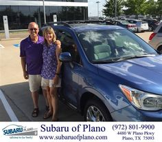 https://flic.kr/p/K62r3V | Happy Anniversary to Mark & Donna on your #Subaru #Forester from Lenora Claus at Subaru of Plano! | deliverymaxx.com/DealerReviews.aspx?DealerCode=K252