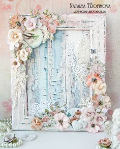 Frame Altered to Shabby ChicShabby Chic Decor For Classroom Vintage Shabby Chic Online ShopsVintage Shabby Chic Home Decor Shabby Chic Inspirations And Beautiful SpacesThriftcycled Picture Frame Refashioned Into Mixed Media Altered ArtShabby Chic Fre Vintage Shabby Chic, Shabby Chic Style, Shabby Chic Homes, Shabby Chic Decor, Shabby Chic Flowers, Shabby Chic Furniture, Shabby Chic Karten, Shabby Chic Cards, Altered Canvas