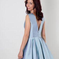 76d0fdb046 Vestido invitada fiesta Todoceremonia · Vestido fiesta corto en azul